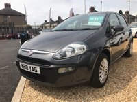 USED 2010 10 FIAT PUNTO EVO 1.4 ACTIVE 5d 77 BHP VERY BRIGHT CLEAN CAR: