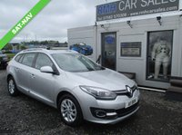 USED 2014 A RENAULT MEGANE 1.6 DYNAMIQUE TOMTOM ENERGY DCI S/S 5d 130 BHP