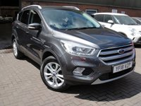 USED 2018 18 FORD KUGA 1.5 TITANIUM TDCI 5d 118 BHP ANY PART EXCHANGE WELCOME, COUNTRY WIDE DELIVERY ARRANGED, HUGE SPEC