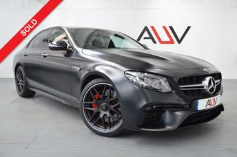 2017 MERCEDES-BENZ E CLASS 4.0 AMG E 63 S 4MATIC EDITION 1 4d AUTO 604 BHP SOLD