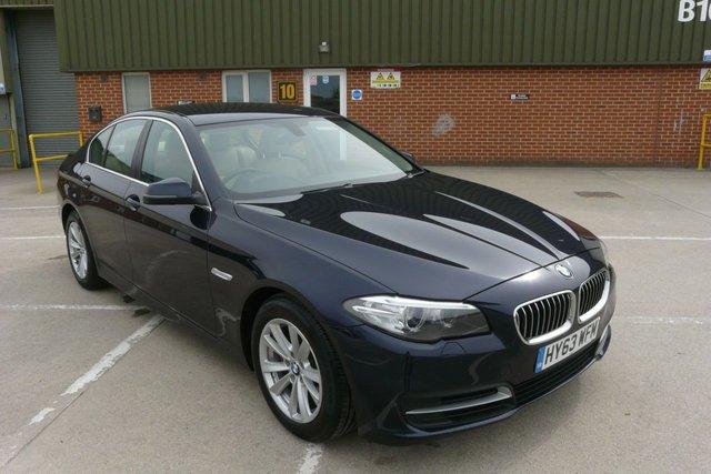 2013 63 BMW 5 SERIES 2.0 520D SE 4d AUTO 181 BHP