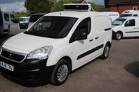 USED 2016 16 PEUGEOT PARTNER 1.6 HDI SE L1 850 1d 92 BHP Refrigerated Van