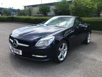 2011 MERCEDES-BENZ SLK 1.8 SLK200 BLUEEFFICIENCY EDITION 125 2d AUTO 184 BHP £SOLD