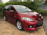 USED 2008 08 MAZDA MAZDA 5 2.0 SPORT D 5d 143 BHP A Superb Well Maintained Example of this Versatile and Reliable 7 Seat Multi Purpose Vehicle with a Great Specification to Include: Climate Control, 16Inch Alloy Wheels, Leather Multi Function Steering Wheel, Cruise Control, Privacy Glass.