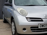 USED 2005 05 NISSAN MICRA 1.2 S 5d 80 BHP