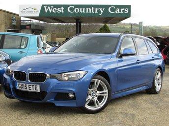 2015 BMW 3 SERIES 2.0 318D M SPORT TOURING 5d 141 BHP £16000.00