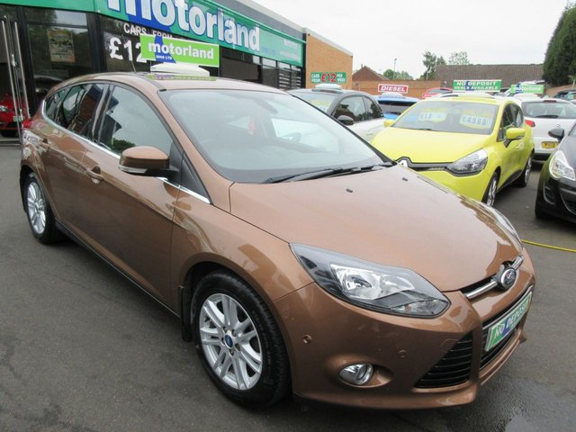 USED 2013 63 FORD FOCUS 1.0 TITANIUM 5d 124 BHP ** 01543 379066 ** JUST ARRIVED ** FULL SERVICE HISTORY **