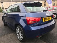 USED 2011 61 AUDI A1 1.4 TFSI SPORT 3d 122 BHP LOVELY EXAMPLE OF THIS AUDI A1 1.4 TFSI SPORT IN SCUBA BLUE PEARLESCENT