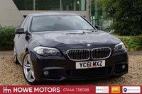 USED 2011 61 BMW 5 SERIES 2.0 520D M SPORT 4d AUTO 181 BHP NAVIGATION 19
