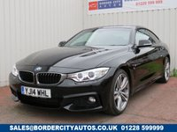 USED 2014 14 BMW 4 SERIES 2.0 420D M SPORT 2d 181 BHP DEALER FULL SERVICE HISTORY