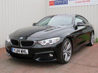 2014 BMW 4 SERIES 2.0 420D M SPORT 2d 181 BHP £12995.00