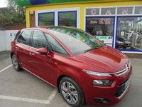 USED 2014 64 CITROEN C4 PICASSO 1.6 E-HDI AIRDREAM EXCLUSIVE 5d 113 BHP