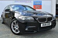 USED 2011 61 BMW 5 SERIES 2.0 520D M SPORT 4d 181 BHP FULL SERVICE HISTORY