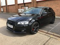 2012 AUDI A3 2.0 SPORTBACK TDI S LINE SPECIAL EDITION 5d 138 BHP £8350.00