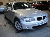 2005 BMW 1 SERIES 1.6 116I SE 5d 114 BHP £2599.00