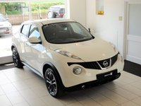 USED 2012 12 NISSAN JUKE 1.6 TEKNA DIG-T 5d 4x4 AUTO 190 BHP PETROL SAT NAV, LEATHER, REV CAM, AUTO We're pleased to offer this fantastic specification funky Nissan Juke that was part exchanged for one of our Jeeps. Full-Service History and wonderful specification that includes the contrasting gun-metal metallic grey alloy wheels, sat nav, heated leather sports seats, Bluetooth, reversing camera, power-fold mirrors to name a few....Two remote central locking keys and RAC warranty included with 12 months RAC cover.