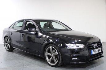 2012 AUDI A4 2.0 TDI BLACK EDITION 4d AUTO 141 BHP £10895.00