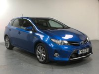 USED 2013 62 TOYOTA AURIS 1.8 EXCEL VVT-I 5d AUTO 99 BHP