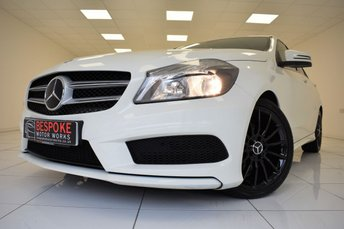 2014 MERCEDES-BENZ A CLASS A180 CDI BLUEEFFICIENCY AMG SPORT  £12995.00