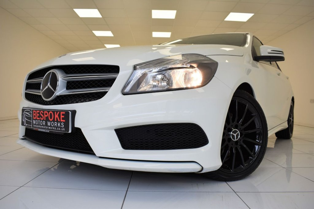 USED 2014 63 MERCEDES-BENZ A CLASS A180 CDI BLUEEFFICIENCY AMG SPORT