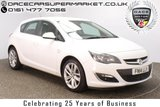 USED 2014 14 VAUXHALL ASTRA 1.4 SRI 5DR 138 BHP SERVICE HISTORY + BLUETOOTH + CRUISE CONTROL + MULTI FUNCTION WHEEL + AIR CONDITIONING + RADIO/CD/AUX + ELECTRIC WINDOWS + ELECTRIC MIRRORS + 18 INCH ALLOY WHEELS