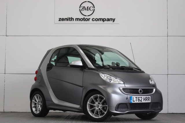 2012 62 SMART FORTWO 1.0 PASSION MHD 2d AUTO 71 BHP