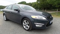 USED 2011 61 FORD MONDEO 2.0 TITANIUM X TDCI 5d AUTO 161 BHP FULL SERVICE HISTORY, HALF LEATHER UPHOLSTERY, CD-PLAYER, ALLOY WHEELS, PARKING SENSORS, HEATED SCREEN, ELECTRIC WINDOWS, AUTOMATIC, ELECTRIC MIRRORS, METALLIC PAINT,