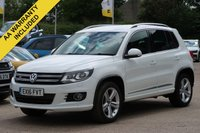 USED 2016 16 VOLKSWAGEN TIGUAN 2.0 R LINE EDITION TDI BMT 4MOTION 5d 148 BHP SATELLITE NAVIGATION, LEATHER + NATIONWIDE DELIVERY AVAILABLE
