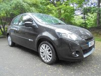 USED 2010 10 RENAULT CLIO 1.1 DYNAMIQUE TOMTOM TCE 3d 100 BHP FULL COLOUR TOMTOM SAT NAV