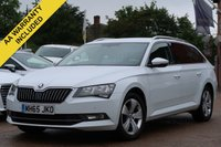 USED 2016 65 SKODA SUPERB 2.0 SE BUSINESS TDI 5d 148 BHP SATELLITE NAVIGATION, FRONT AND REAR PARK PILOT, ADAPTIVE CRUISE CONTROL
