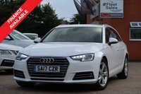 USED 2017 17 AUDI A4 2.0 AVANT TDI ULTRA SPORT 5d 148 BHP ESTATE SATELLITE NAVIGATION + NATIONWIDE DELIVERY AVAILABLE