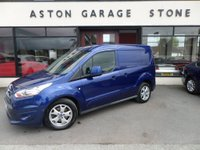 2016 FORD TRANSIT CONNECT 1.6 200 LIMITED P/V 114 BHP **3 SEATS * F/S/H** £7690.00