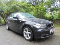 USED 2009 59 BMW 1 SERIES 2.0 118D SPORT 3d 141 BHP STUNNING EXAMPLE