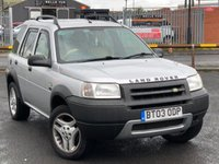 USED 2003 03 LAND ROVER FREELANDER 2.0 TD4 ES PREMIUM STATION WAGON 5d AUTO 110 BHP *HEATED LEATHER, AUTOMATIC, GREAT VALUE!*