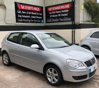 2009 VOLKSWAGEN POLO 1.2 MATCH 3DR 60 BHP, LOW MILEAGE £3495.00
