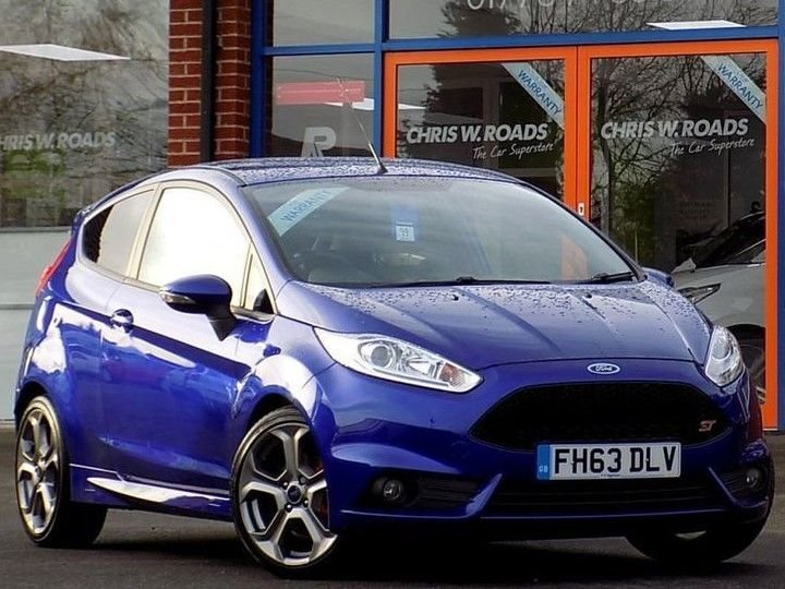 USED 2014 63 FORD FIESTA 1.6 Ecoboost ST-2 3dr **Style Pack + Half Leather**