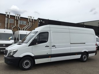 2014 MERCEDES-BENZ SPRINTER 2.1 313CDI LWB HIGH ROOF 130BHP. ONLY 114K. F/S/H. FINANCE. PX £7990.00