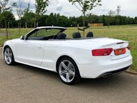 USED 2013 V AUDI A5 2.0 TDI S LINE SPECIAL EDITION AUTO 175 BHP 2DR CONVERTIBLE BANG & OLUFSEN+ LTHR+