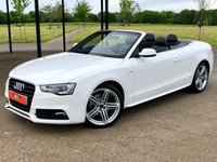 2013 AUDI A5 2.0 TDI S LINE SPECIAL EDITION AUTO 175 BHP 2DR CONVERTIBLE £12995.00