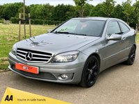 USED 2010 10 MERCEDES-BENZ CLC CLASS 2.1 CLC200 CDI SPORT 122 BHP 3DR HATCH BACK TWO TONE LEATHER+ BLACK ALLOYS
