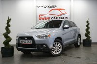 USED 2012 62 MITSUBISHI ASX 1.8 DI-D 4 5d 147 BHP 4WD, GOOD SPEC, DRIVES SUPERB, SAT NAV