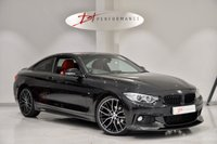 USED 2015 15 BMW 4 SERIES 2.0 420D M SPORT 2d AUTO 188 BHP CARBON M PERFORMANCE KIT