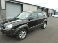 2004 HYUNDAI TUCSON 2.0 CDX CRTD 4WD 5d 111 BHP £1991.00
