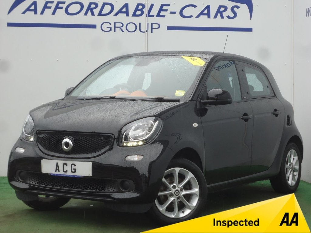 USED 2015 15 SMART FORFOUR 0.9 PASSION PREMIUM T 5d 90 BHP