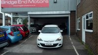 """USED 2016 16 VAUXHALL ASTRA 1.4 GTC SPORT S/S 3d 118 BHP ONLY 13009 MILES FROM NEW! SOUGHT AFTER SPORT SPEC WITH 19"""" ALLOY WHEELS, AIR CON, CRUISE CONTROL, LOW RUNNING COSTS AND INSURANCE, FULL SERVICE HISTORY"""