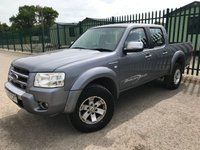 2007 FORD RANGER 2.5 THUNDER 4X4 D/C 1d 141 BHP ALLOYS LEATHER TOW BAR A/C MOT 04/20 £2500.00
