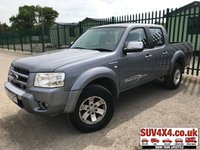 USED 2007 07 FORD RANGER 2.5 THUNDER 4X4 D/C 1d 141 BHP ALLOYS LEATHER TOW BAR A/C MOT 04/20 (£2,500 + £500 VAT) GREY MET WITH FULL BLACK LEATHER TRIM. 16 INCH ALLOYS. COLOUR CODED TRIMS. AIR CON. R/CD PLAYER. TOW BAR. E.WINDOWS. E.MIRRORS. MOT 04/20. AGE/MILEAGE RELATED SALE. P/X CLEARANCE CENTRE - LS23 7FQ. TEL 01937 849492 OPTION 4
