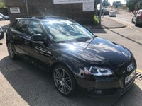 2010 AUDI A3 2.0 SPORTBACK TDI S LINE SPECIAL EDITION 5d AUTO 168 BHP £SOLD