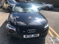 USED 2010 10 AUDI A3 2.0 SPORTBACK TDI S LINE SPECIAL EDITION 5d AUTO 168 BHP