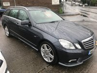 2010 MERCEDES-BENZ E CLASS 2.1 E250 CDI BLUEEFFICIENCY SPORT 5d 204 BHP £7495.00